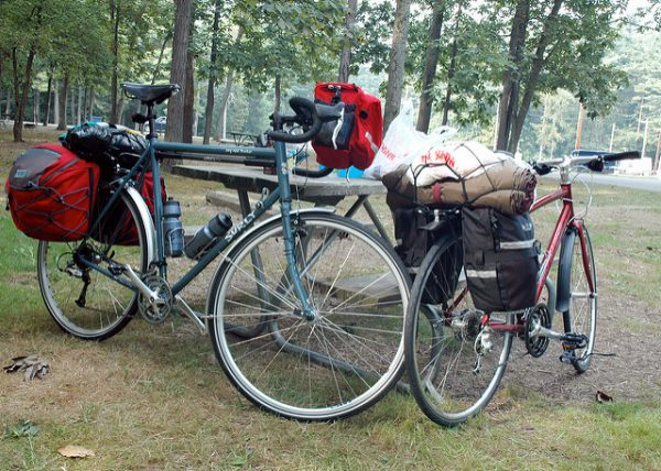Touring bikes Transamerica trail