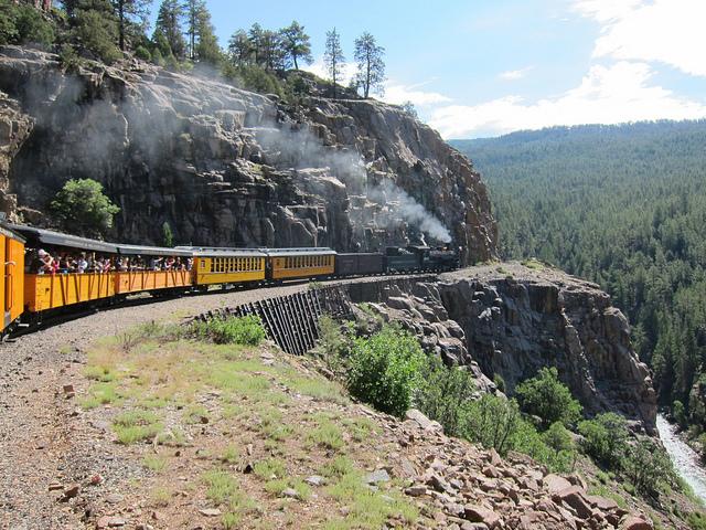 Durango Train Embankment