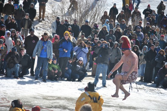 Polar Plunging at the Frozen Dead Guy Days