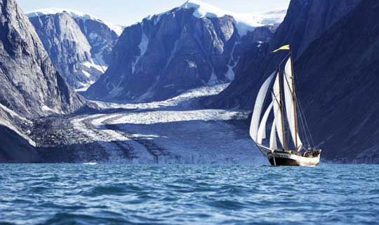 Travel in Greeland